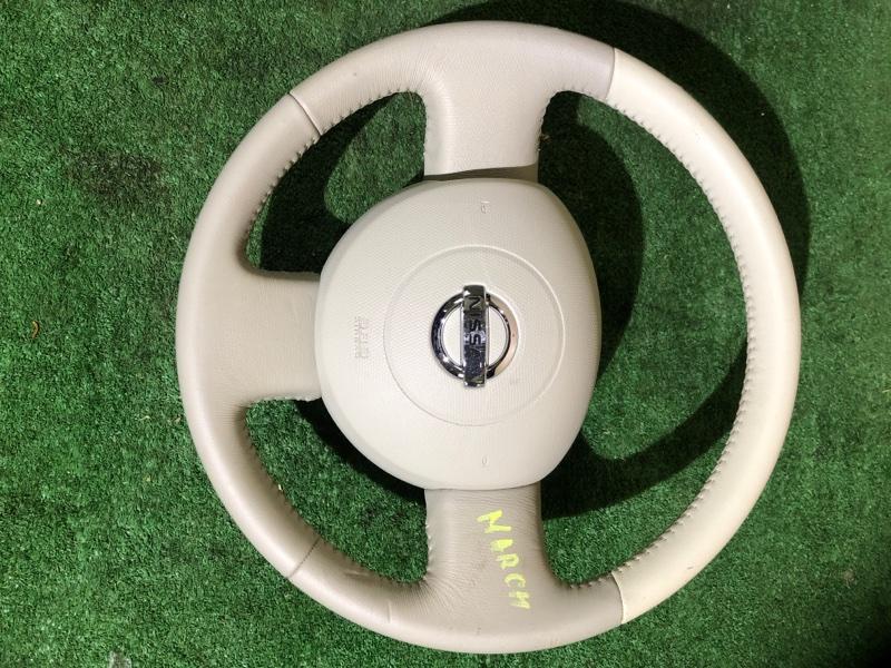 Руль Nissan March AK12 (б/у)