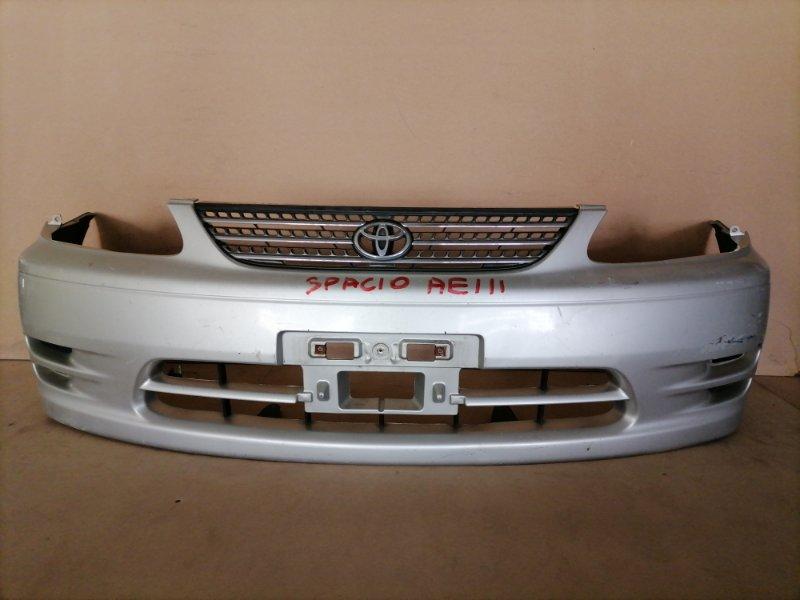 Бампер Toyota Spacio AE111 передний (б/у)