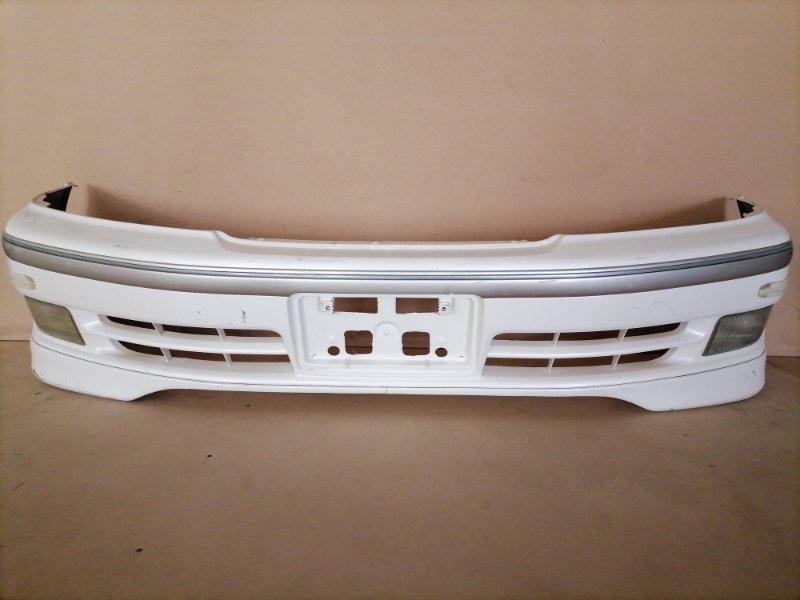Бампер Toyota Markii Qualis MCV21 передний (б/у)
