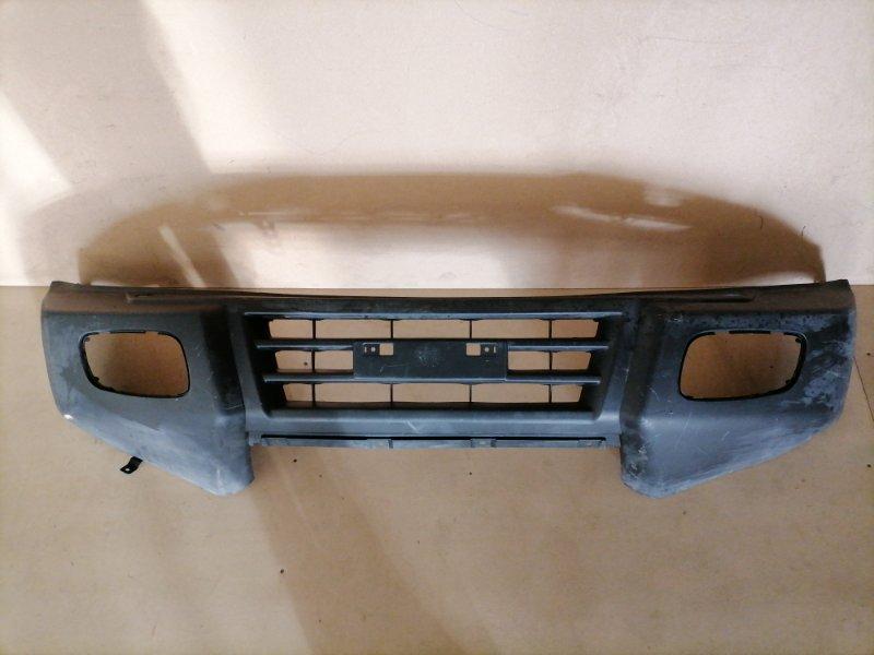 Бампер Mitsubishi Pajero V73W передний (б/у)
