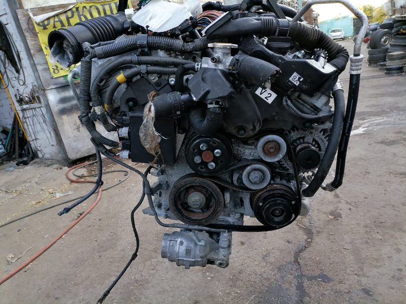Двигатель Toyota Mark X GRX120 4GR (б/у)