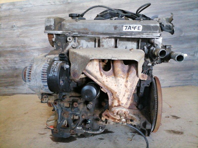 Двигатель Toyota Carina 7A-FE (б/у)