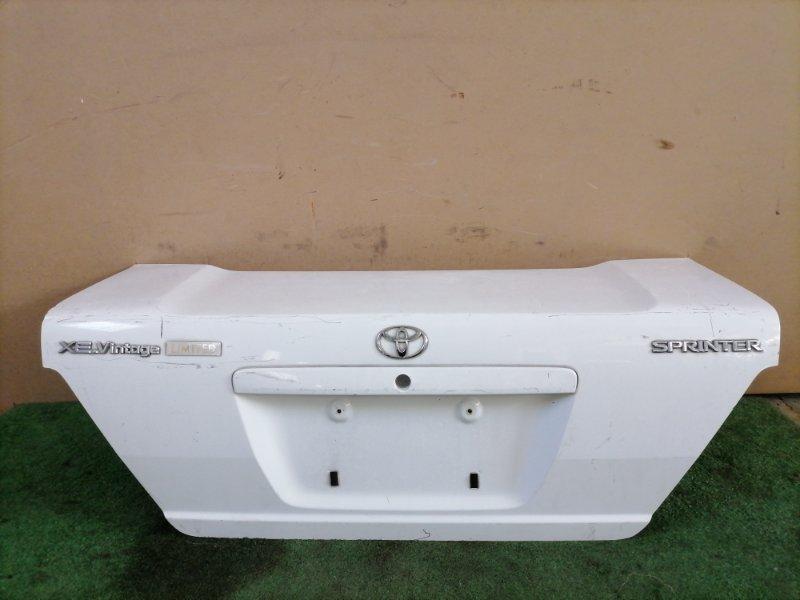 Крышка багажника Toyota Sprinter (б/у)
