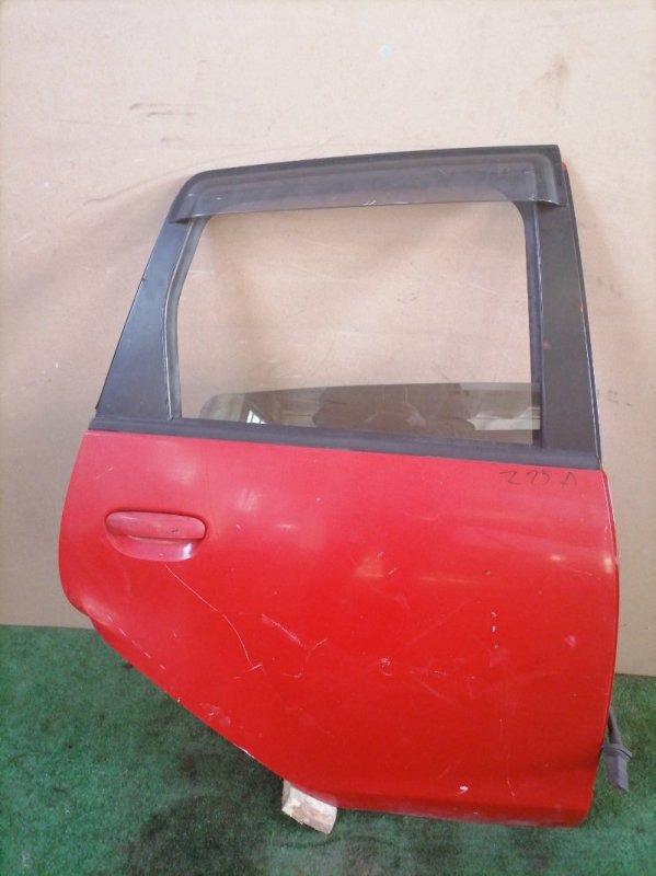 Дверь Mitsubishi Colt Z25A задняя правая (б/у)