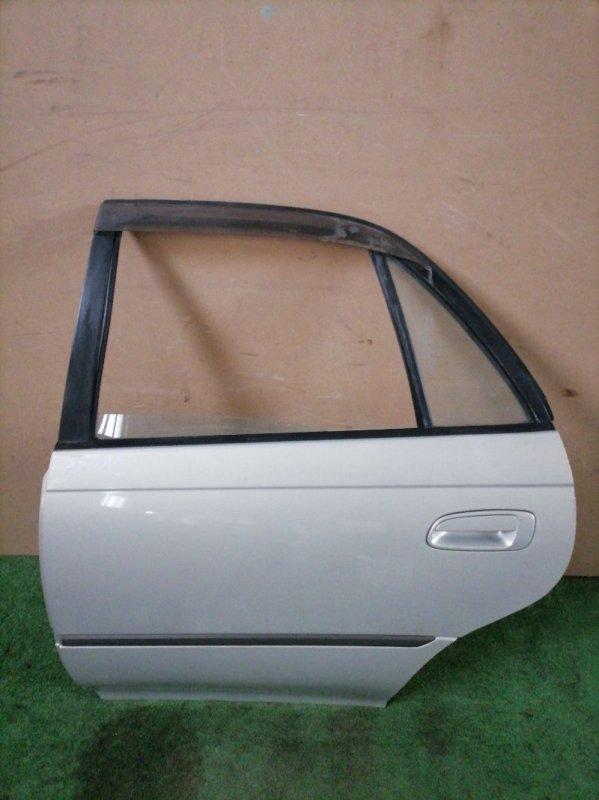 Дверь Toyota Carina AT192 задняя левая (б/у)