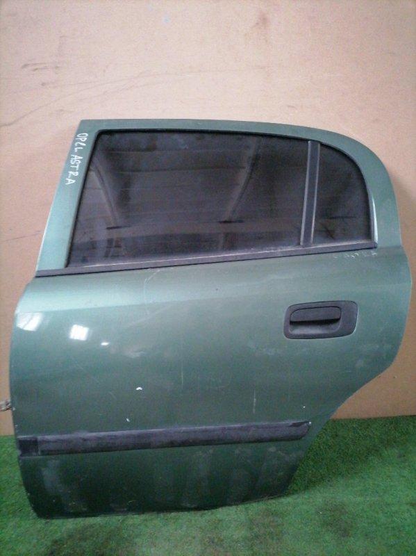 Дверь Opel Astra задняя левая (б/у)