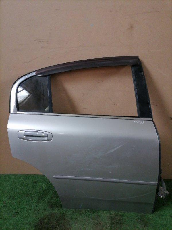 Дверь Nissan Stagea NM35 задняя правая (б/у)