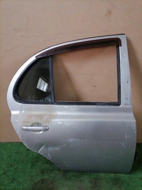 Дверь Nissan March K12 задняя правая (б/у)