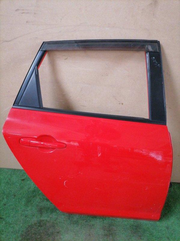Дверь Mazda 3 BK3P задняя правая (б/у)