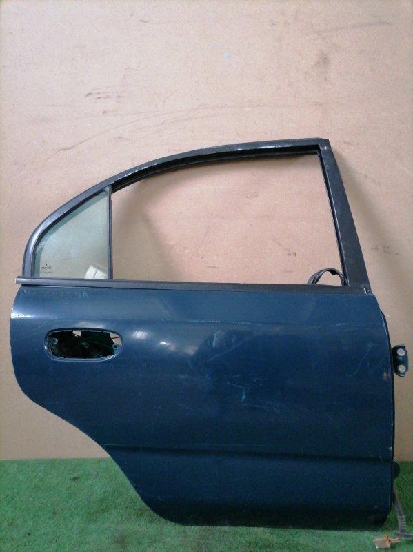 Дверь Mitsubishi Carisma задняя правая (б/у)