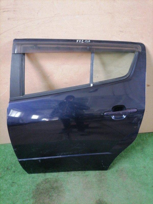 Дверь Toyota Will Vs NZE127 задняя левая (б/у)