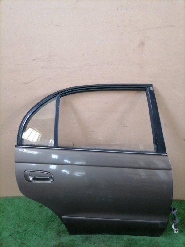 Дверь Toyota Corona AT190 задняя правая (б/у)