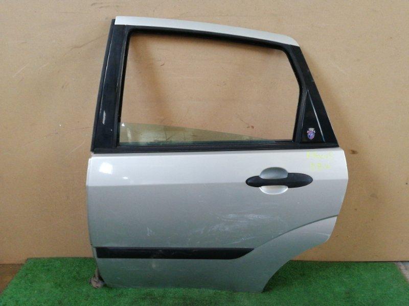 Дверь Ford Focus DBW 2002 задняя левая (б/у)