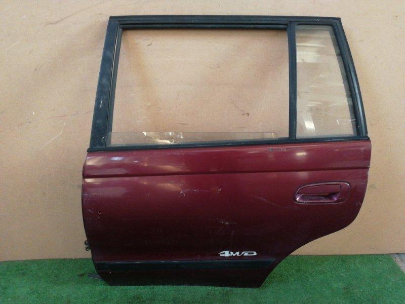 Дверь Toyota Caldina ST195 задняя левая (б/у)