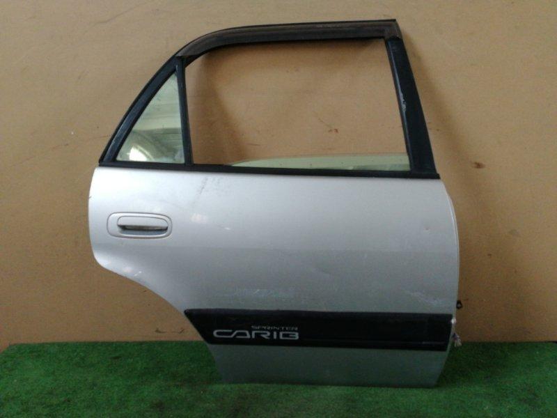 Дверь Toyota Sprinter Carib AE110 задняя правая (б/у)