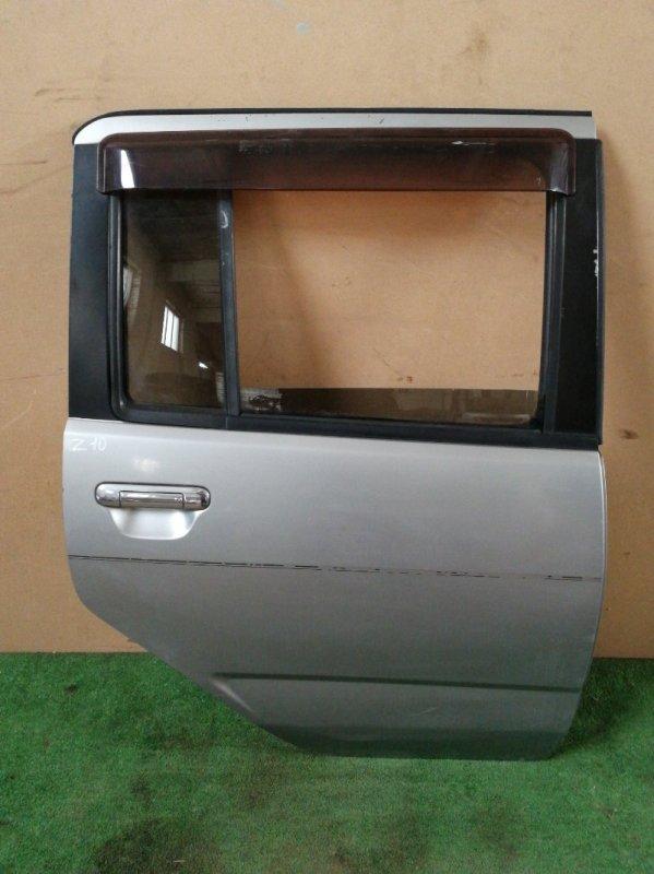 Дверь Nissan Cube Z10 задняя правая (б/у)
