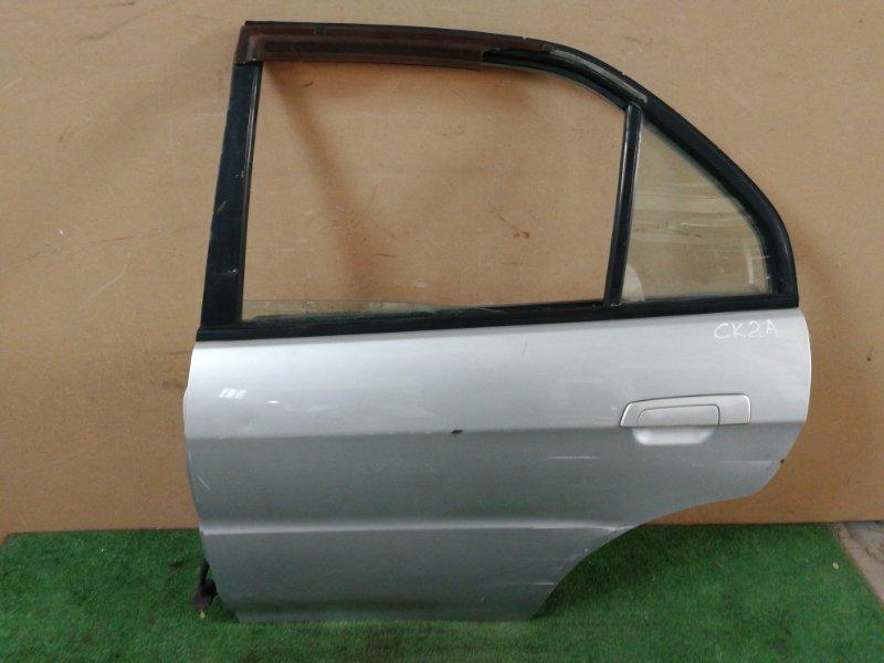 Дверь Mitsubishi Lancer CK2A 4G15 задняя левая (б/у)