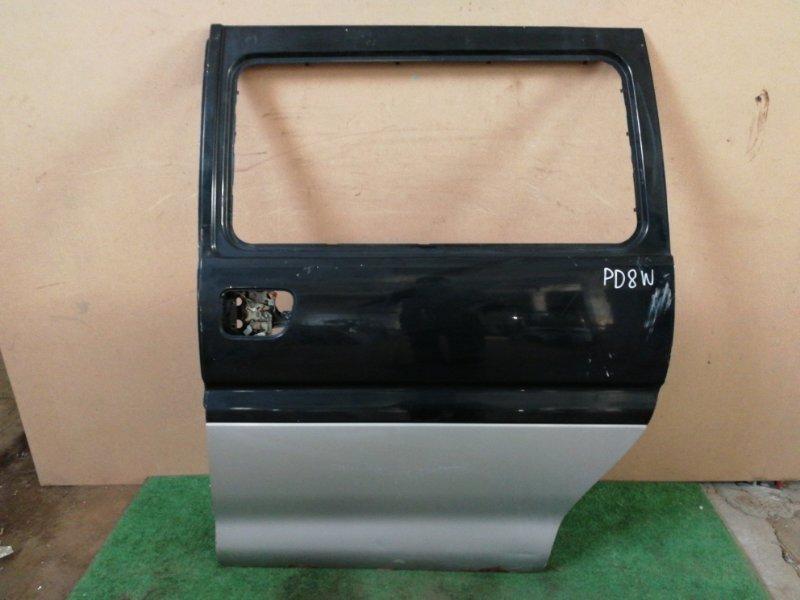 Дверь Mitsubishi Delica PD8W задняя левая (б/у)