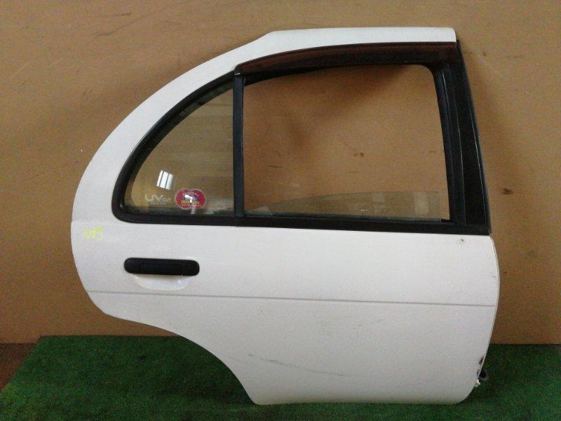 Дверь Nissan Pulsar N15 задняя правая (б/у)