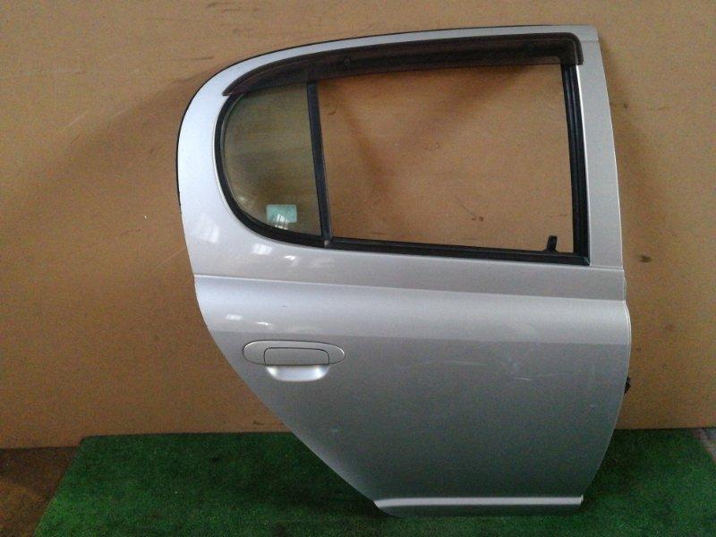 Дверь Toyota Vitz SCP10 задняя правая (б/у)
