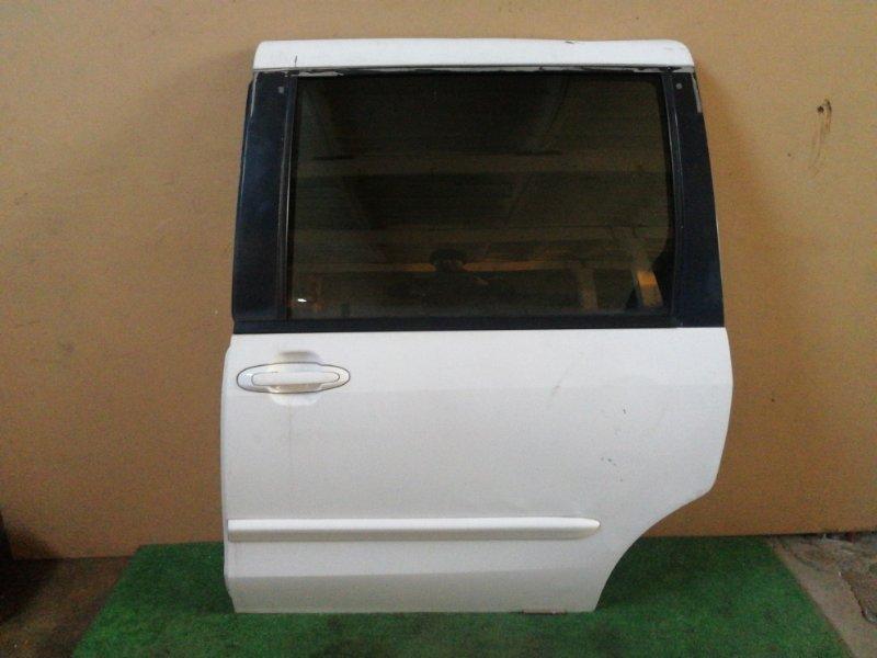 Дверь Mazda Mpv LW5W задняя левая (б/у)