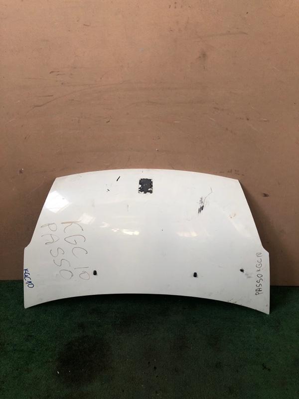 Капот Toyota Passo KGC10 (б/у)