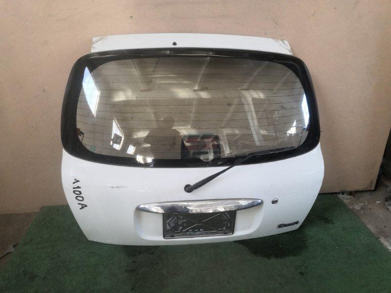 Дверь багажника Toyota Duet M100A (б/у)