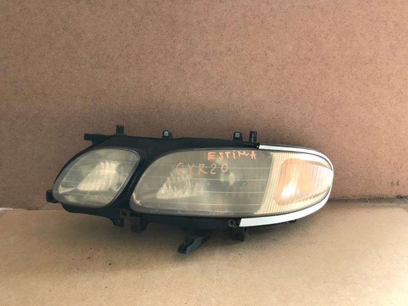 Фара Toyota Estima CXR20 передняя левая (б/у)