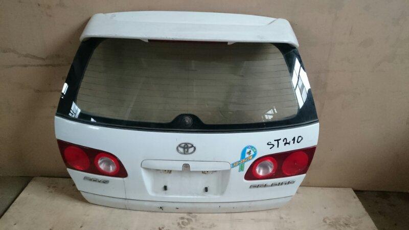 Крышка багажника Toyota Caldina ST210 (б/у)