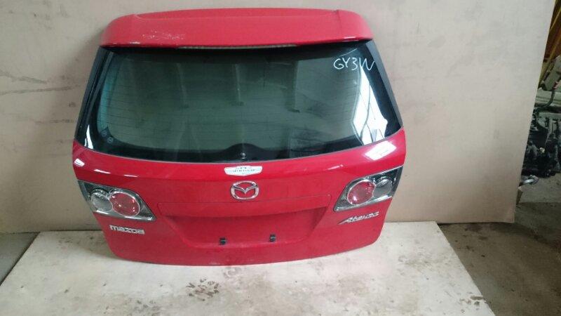 Крышка багажника Mazda Atenza GY3W (б/у)