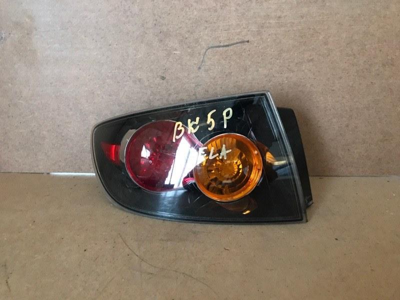Фонарь заднего хода Mazda Axela BK5P задний левый (б/у)