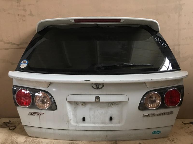 Крышка багажника Toyota Caldina ST215 задняя (б/у)