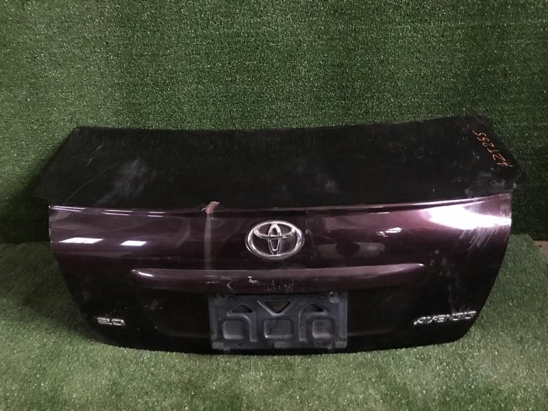 Крышка багажника Toyota Avensis AZT255 задняя (б/у)