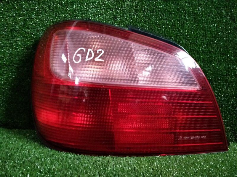 Фонарь Subaru Impreza GD2 левый (б/у)