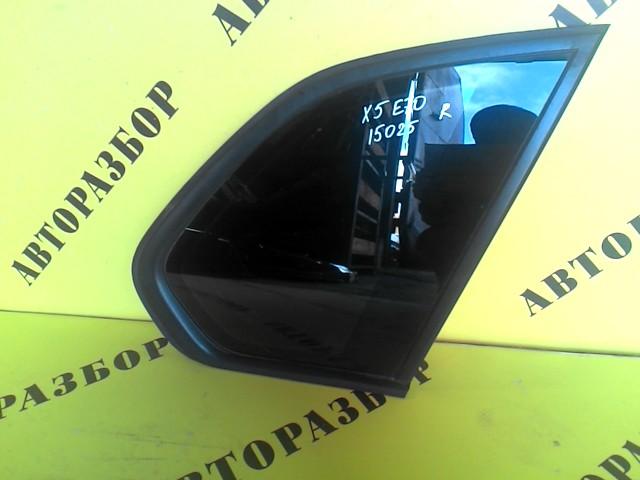 Стекло кузовное глухое заднее правое Bmw X5 E70 2007-2013