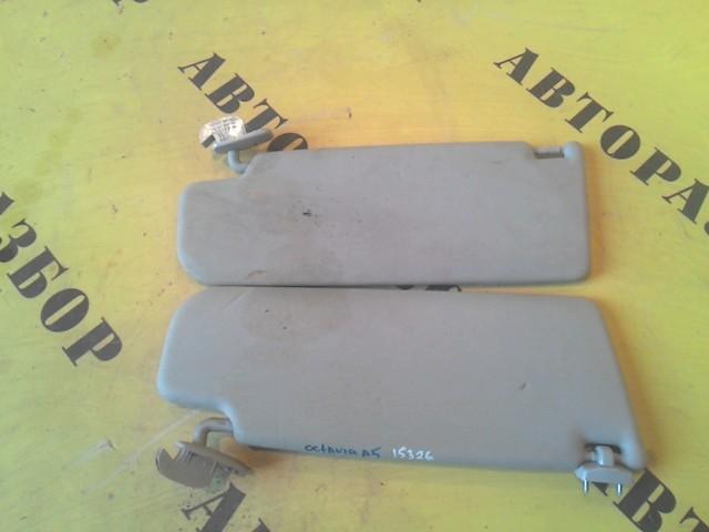 Козырек солнцезащитный Skoda Octavia (A5) 2004-2013