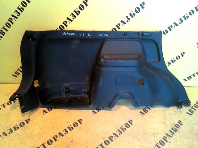 Обшивка багажника Mitsubishi Outlander (Gf) 2012-H.b.