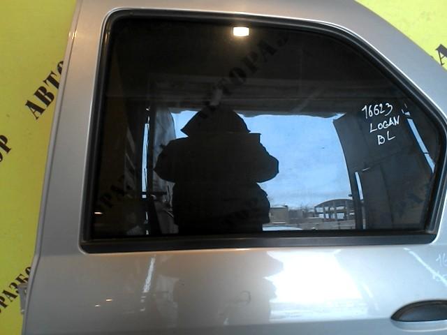 Стекло двери задней левой Renault Logan 2005-2014