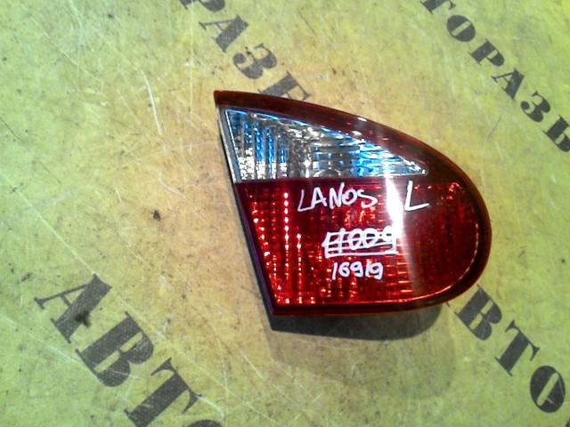 Фонарь задний левый внутренний Chevrolet Lanos 2004-2010