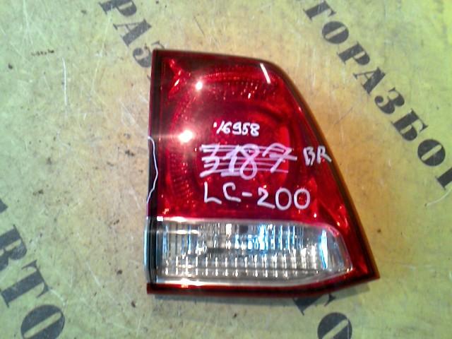 Фонарь задний левый внутренний Toyota Land Cruiser 200 2008-H.b.