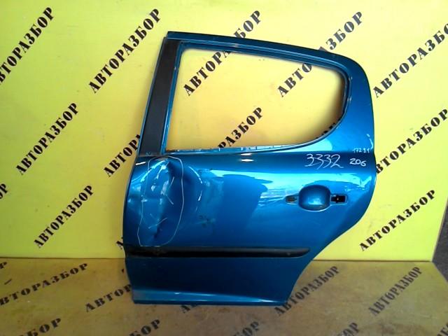 Дверь задняя левая Peugeot 207 2006-2013