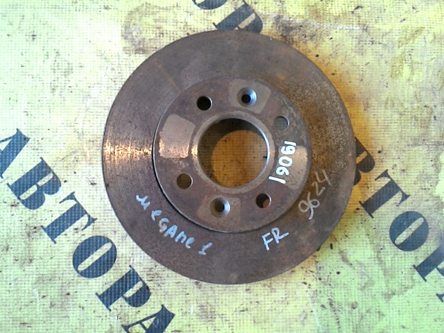 Диск тормозной передний Renault Megane 1 1996-2002