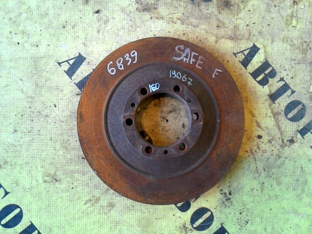Диск тормозной передний Great Wall Safe Suv 2003-2010