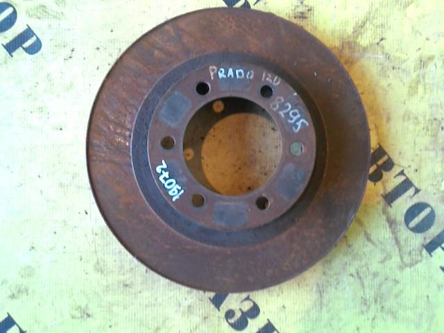 Диск тормозной передний Toyota Land Cruiser Prado 120 2002-2009