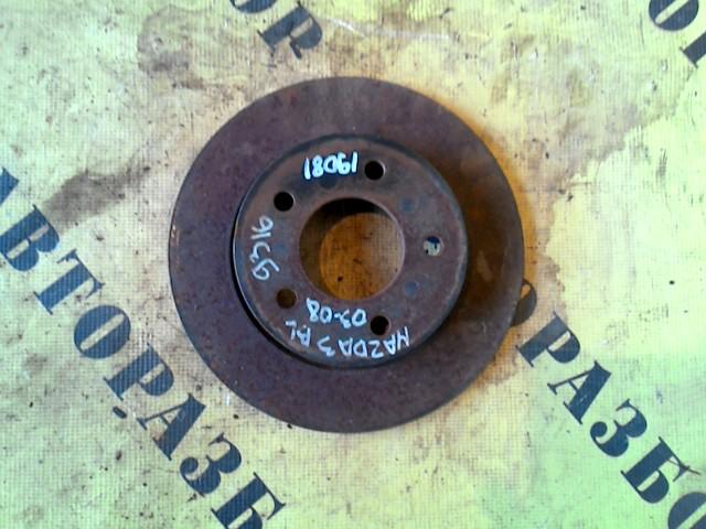 Диск тормозной задний Mazda Mazda 3 (Bk) 2002-2009