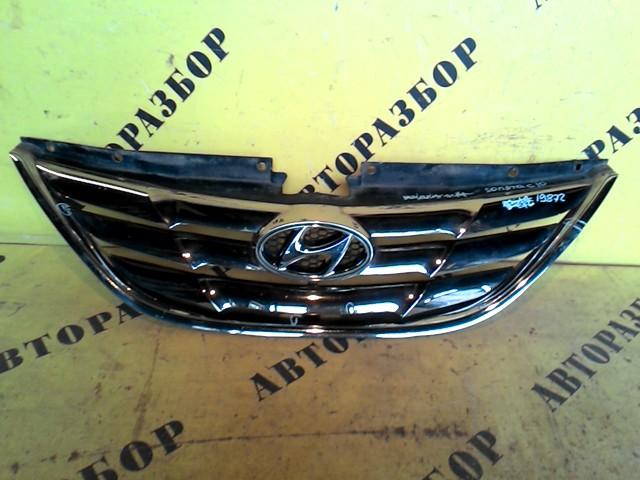 Решетка радиатора Hyundai Sonata 6 2010-2014