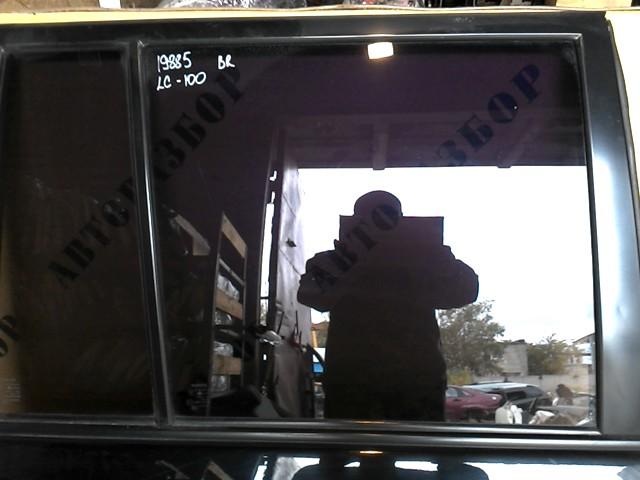 Стекло двери задней правой Toyota Land Cruiser 100 1998-2007
