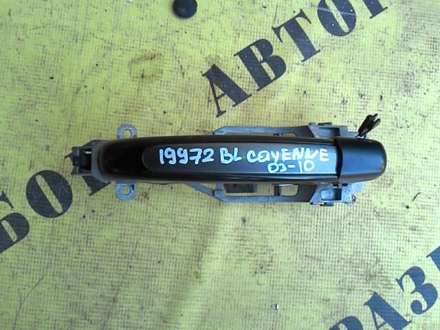 Ручка двери задней левой наружняя Porsche Cayenne 2003-2010