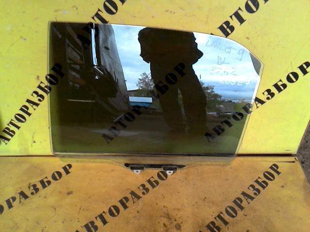 Стекло двери задней левой Mitsubishi Lancer 9 2003-2006