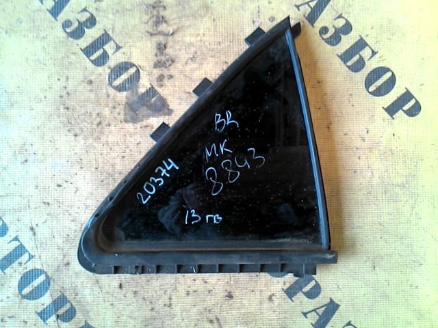Стекло двери задней правой (форточка) Geely Mk 2008-2015